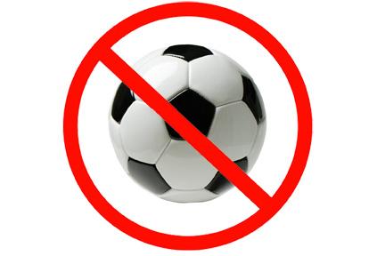 no-soccer